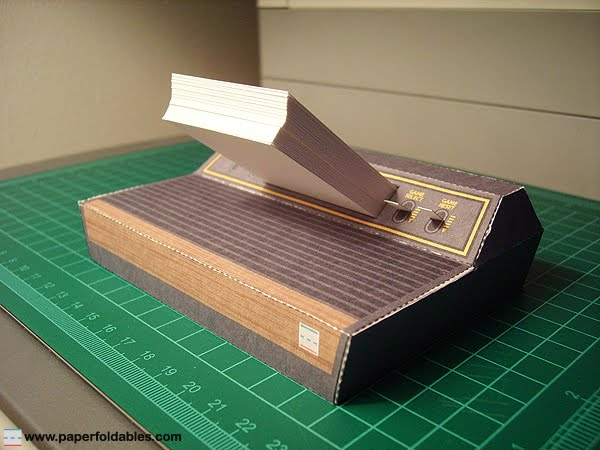 Atari 2600 Business Card Holder Paper Foldable Atari 2600