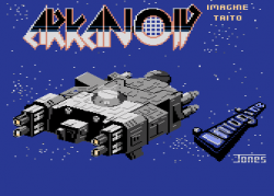 ARKANOID Loading screen_C64version by Tezz.png