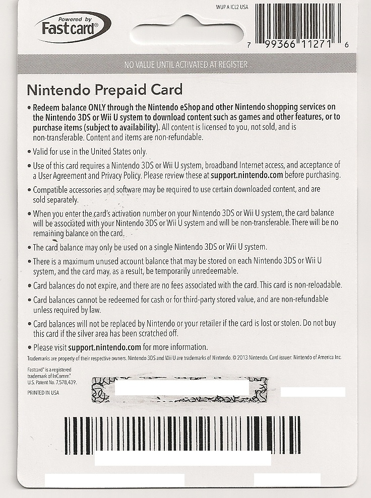Nintendo 3ds game coupons