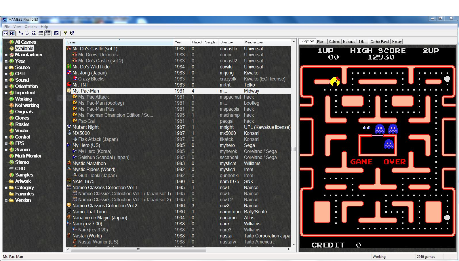 MAME that works on Windows 7 - Emulation - AtariAge Forums