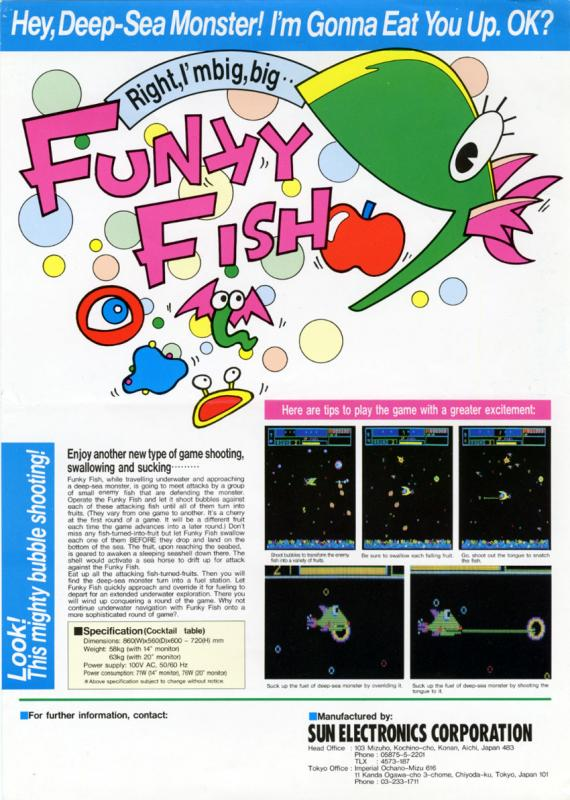 Funky Fish (Arcade Flyer).jpg