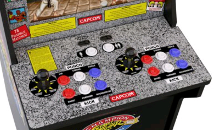Arcade 1up needing new control panel art work - Arcade and