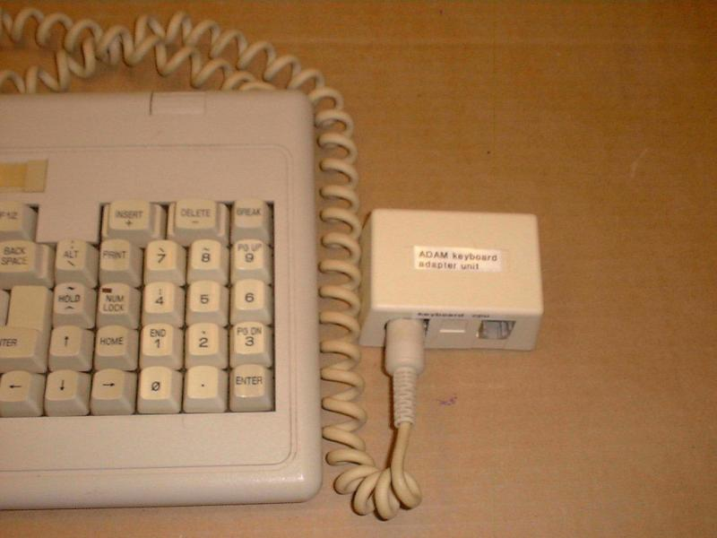 ADAM Keyboard - converted Tandy - #02.jpg