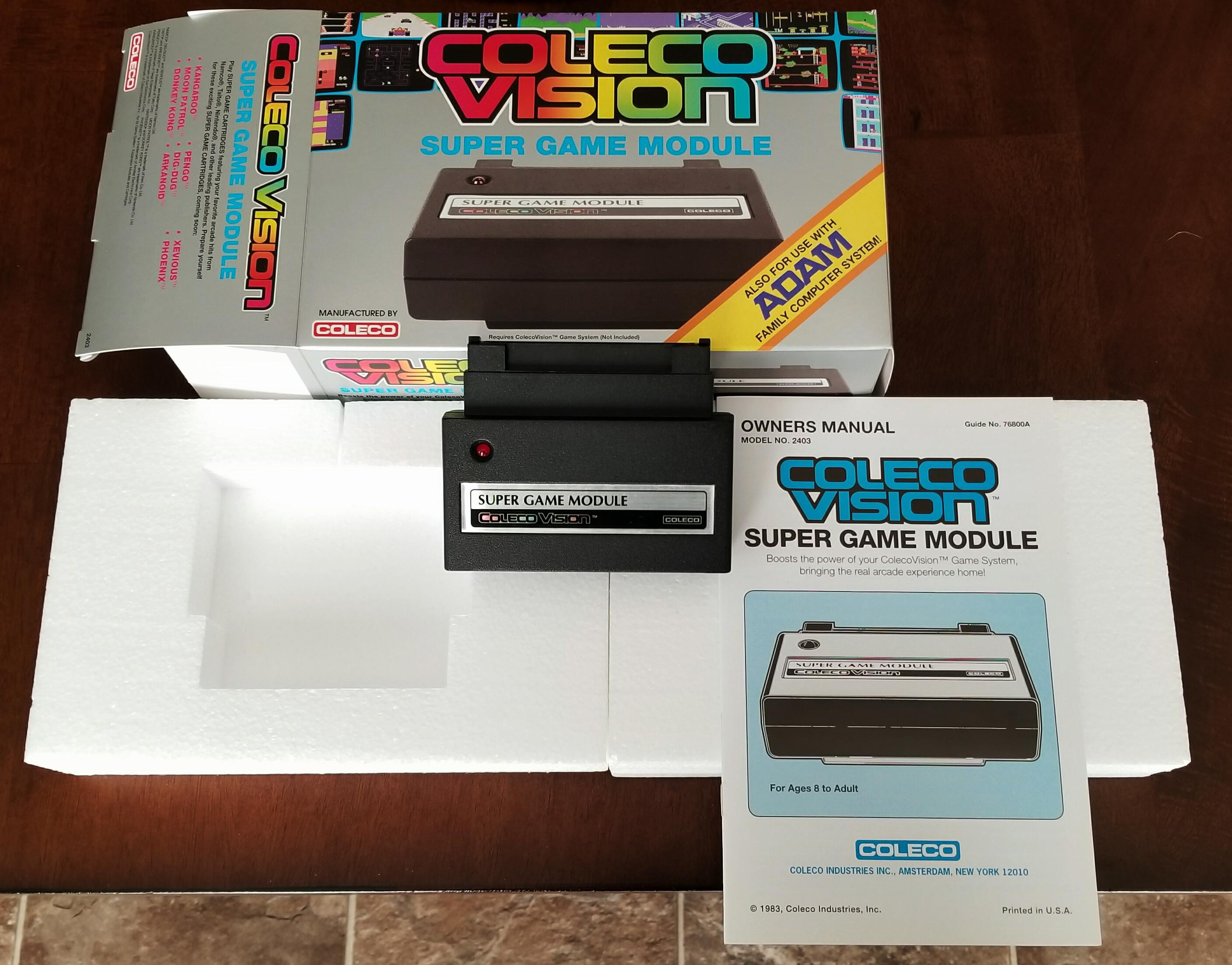 Selling a few games and an SGM - ColecoVision / Adam