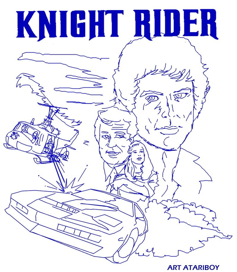 The Knight Rider 2600 Project Page 16 Atari Atariage Forums Dashboard Coloring Pages