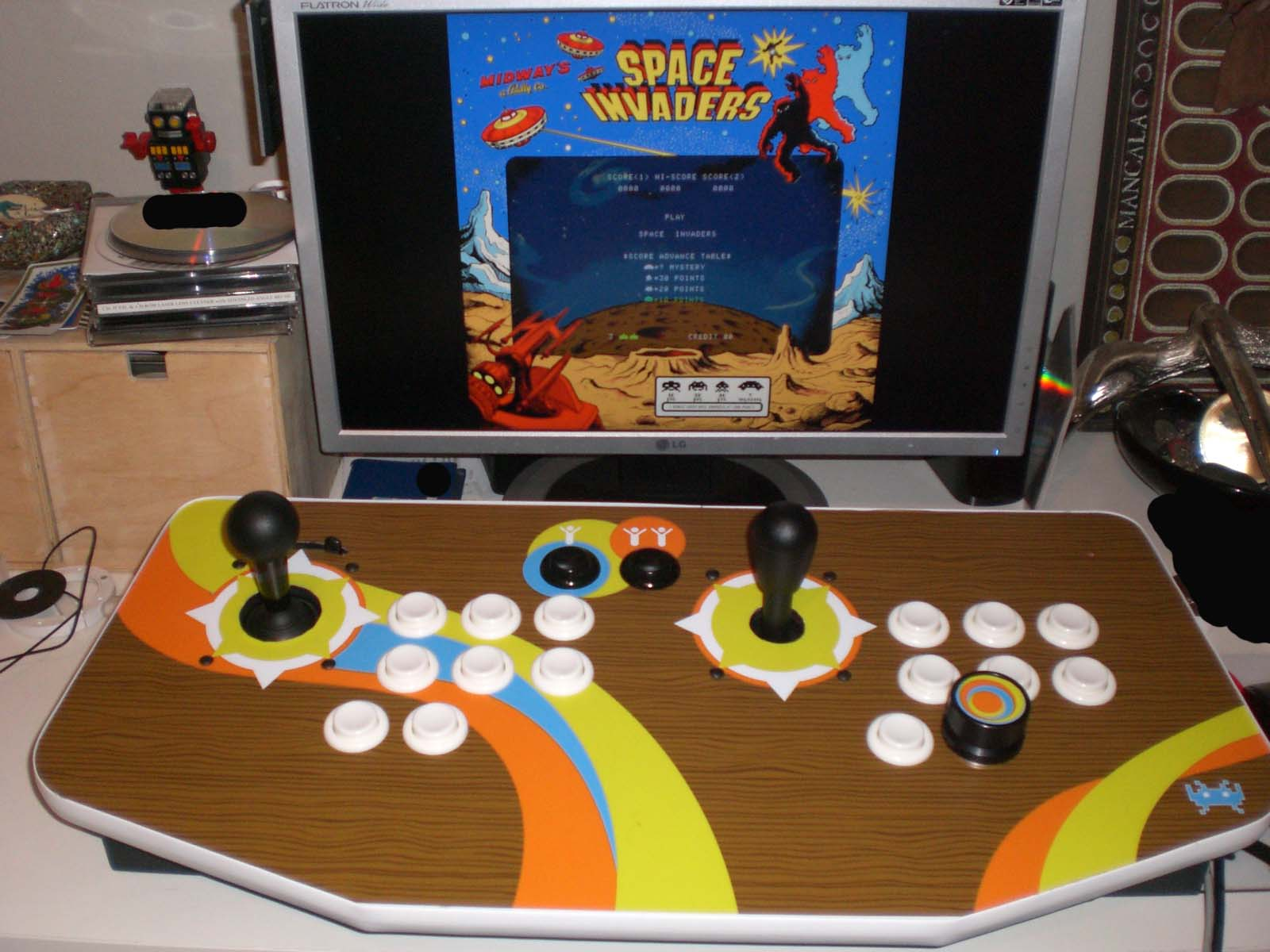 MAME: how to do with games that need special controls? - Emulation