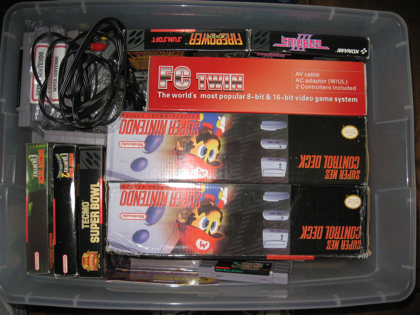 SNES 'Mini' and FC Twin System New In Box - Buy, Sell, and