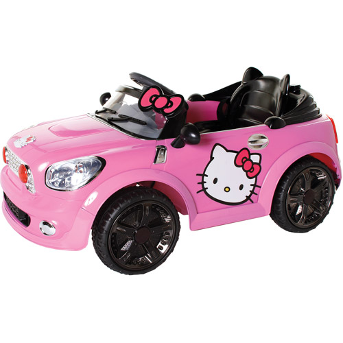 Hello Kitty Electric Car