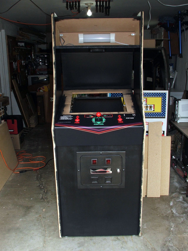 bosconian arcade machine