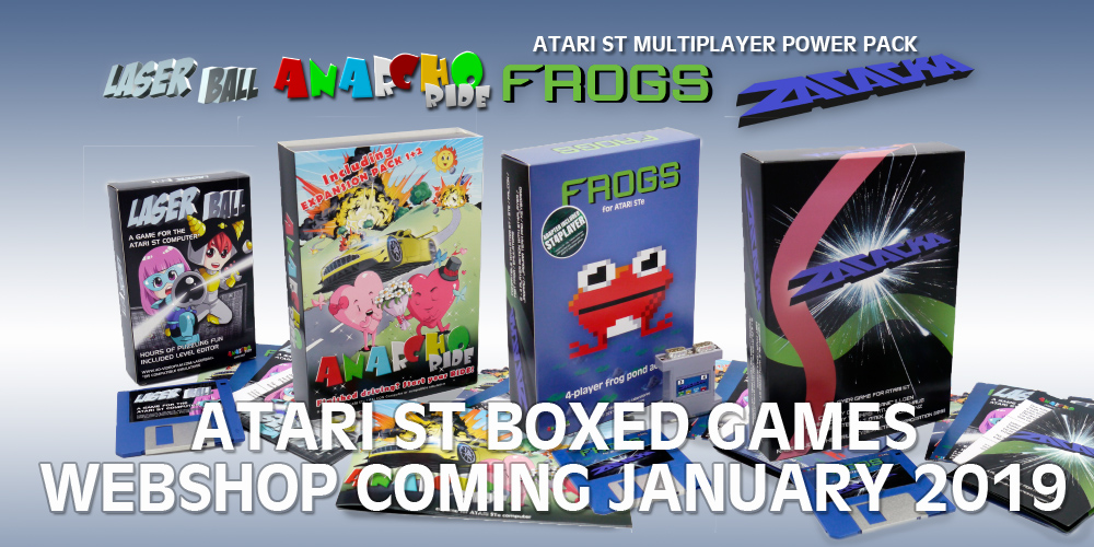 New ATARI ST(e) Multiplayer Game FROGS - OUT NOW! - Atari ST