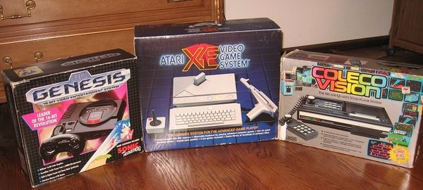 Video Game System Boxes Genesis XE ColecoVision.jpg