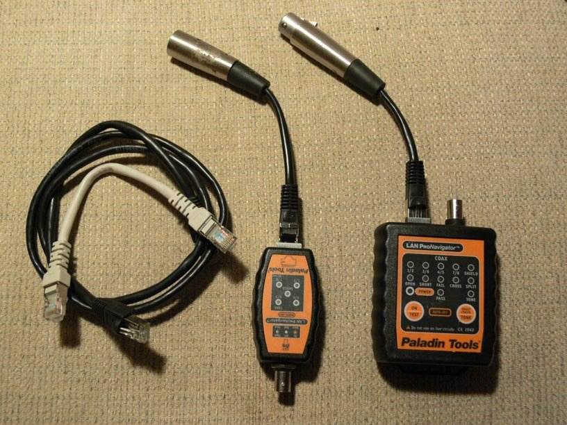 XLR cable tester hack