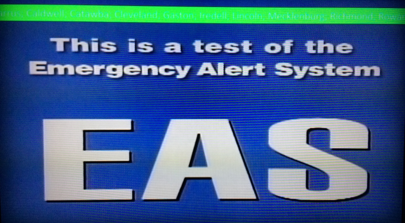 Emergency Alert System Test Was Unreadable