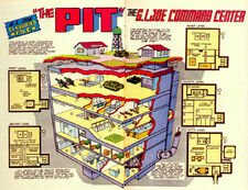 GI Joe The Pit schematic from Marvel Comics