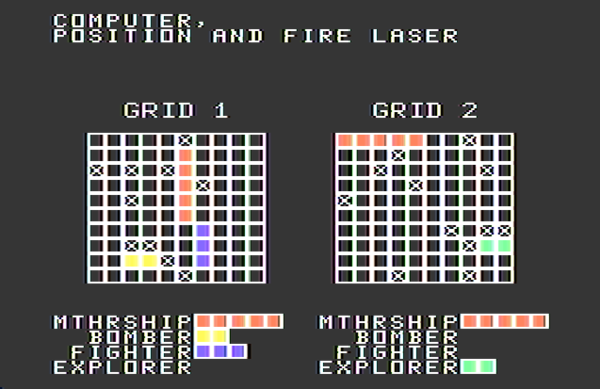 """Laser Strike"" for the TI-99/4A"