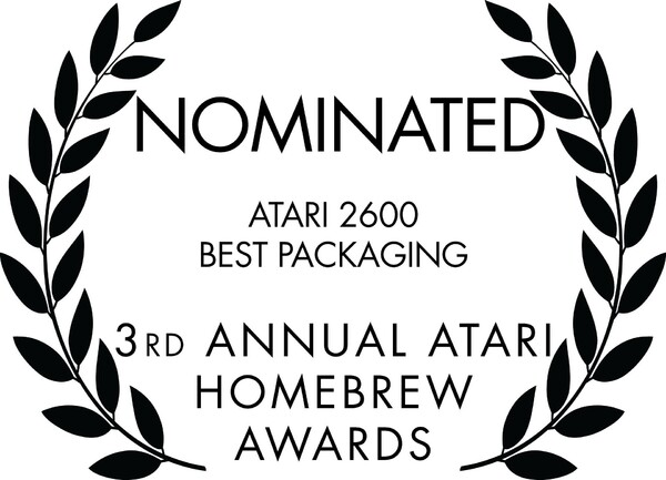 3rd Annual Atari Homebrew Awards (2020)-Nominated Laurels-Atari 2600 Best Packaging.jpg