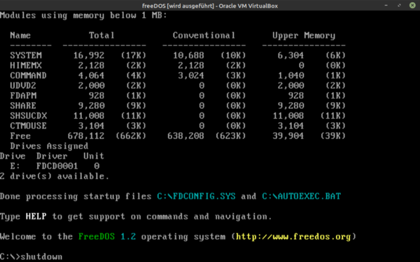 VM freeDOS working.png