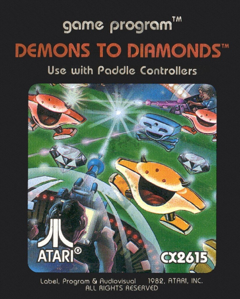 Demons To Diamonds (front label)