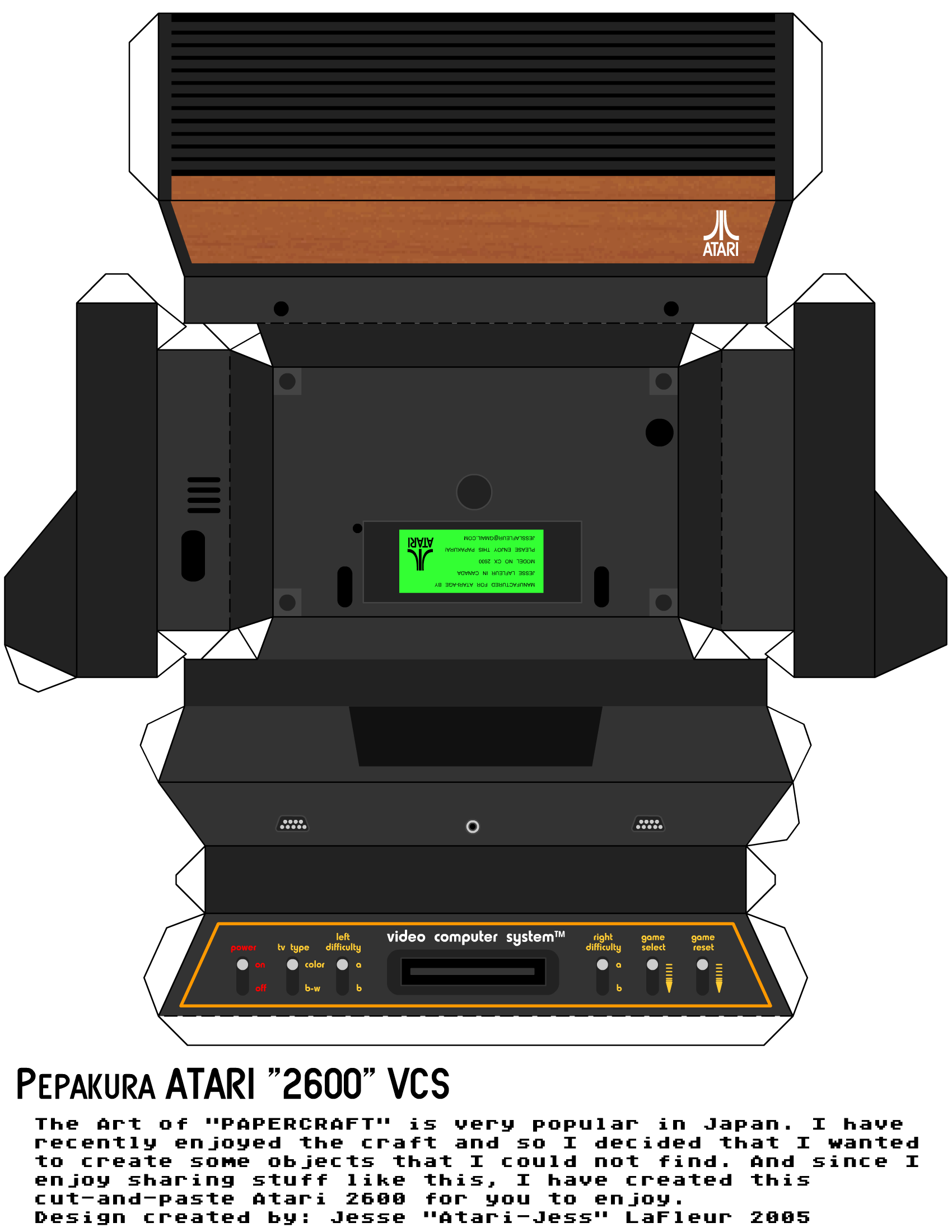 Atari 2600 Vcs Mr Do Scans Dump Download: The Paper 6 Switch