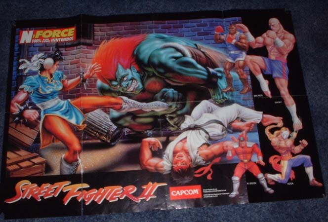 Original Street Fighter 2 US game cover - Classic Gaming General