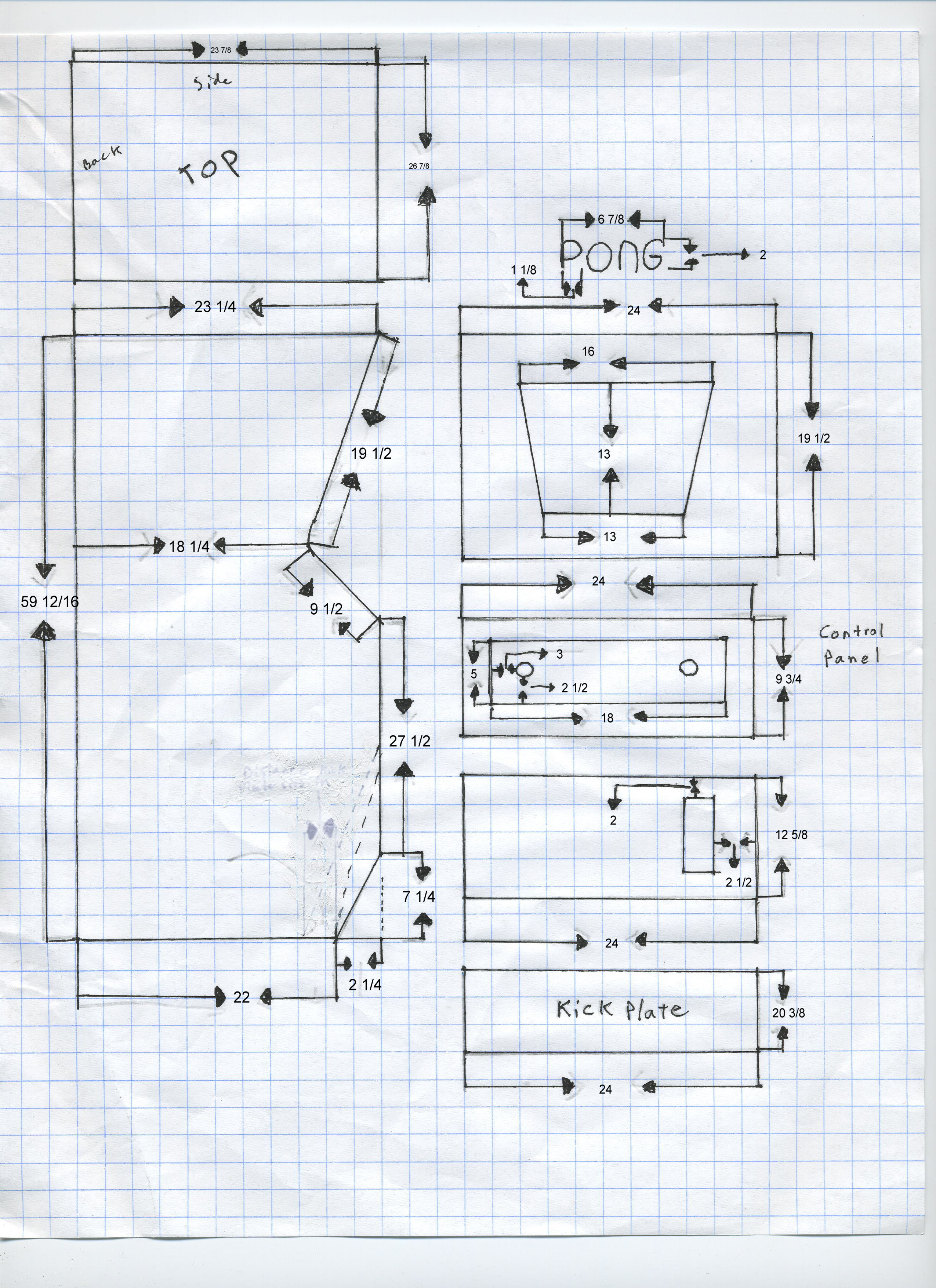 how to build a pong replica? - Arcade and Pinball - AtariAge Forums