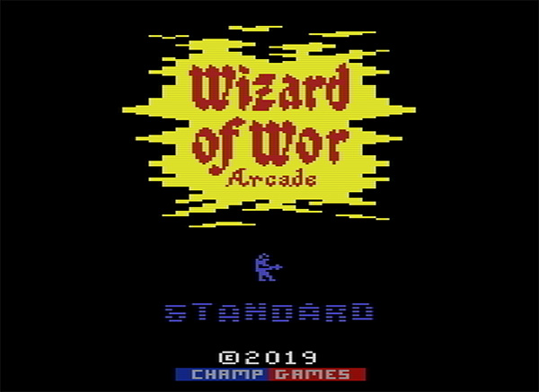 Wizard of Wor Arcade Maze Design Contest