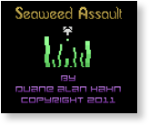 Seaweed Assault 2600 Homebrew Released
