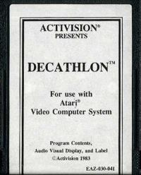 Activision Decathlon, The - Cartridge