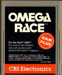 Omega Race - Cartridge