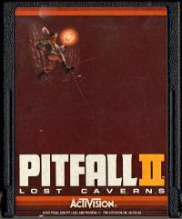 Pitfall II: Lost Caverns - Cartridge