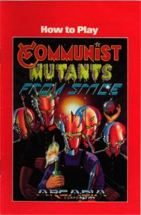 Communist Mutants from Space - Manual