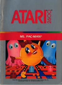 Ms. Pac-Man - Manual