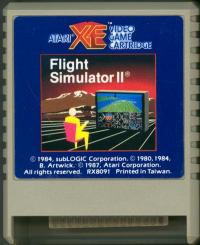 Flight Simulator II - Cartridge