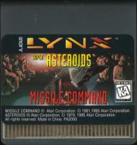 Super Asteroids & Missile Command - Cartridge