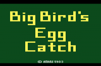 Big Bird's Egg Catch - Screenshot