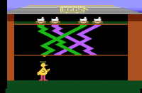 Big Bird's Egg Catch - Screenshot