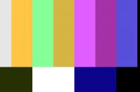 Color Bar Generator - Screenshot
