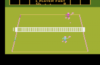 RealSports Tennis - Screenshot