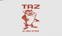 Taz - Screenshot