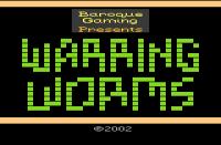 Warring Worms - Screenshot