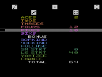Yahtzee - Screenshot