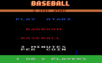 Barroom Baseball - Screenshot