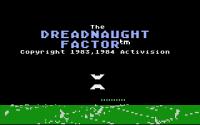 Dreadnaught Factor, The - Screenshot