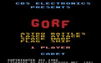Gorf - Screenshot