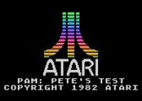 Pete's Test Cartridge - Screenshot