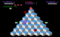 Q*bert - Screenshot