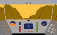 Rescue on Fractalus - Screenshot