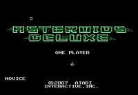 Asteroids Deluxe - Screenshot