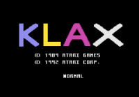 KLAX - Screenshot