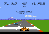 Pole Position II - Screenshot